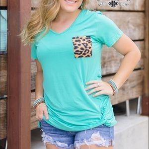 Party Pocket Knot Top